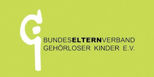 Bundeselternverband gehörloser kinder e.V. logo